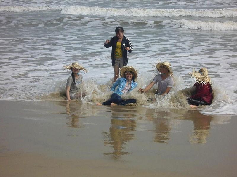 Vijetnamske gracije u oceanskom plićaku