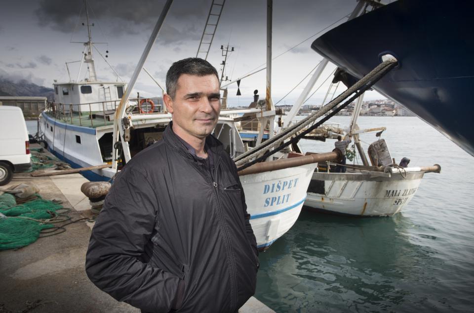 'Koliko god zna bit težak ribarski posao, jednom kad ti uđe po kožu, ostaje cijeli život', ističe Antonio Božidar Vukičević/EPH