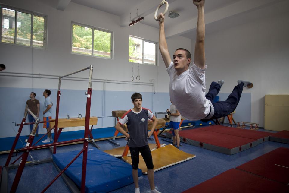 Split, 070711. Sportska dvorana Kinezioloskog fakulteta. Foto: Ante Cizmic/CROPIX
