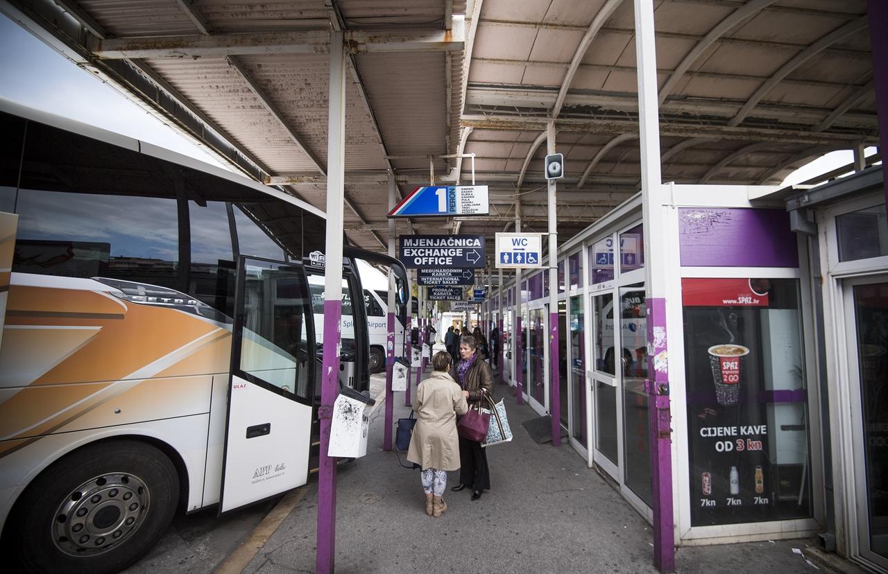Slobodna Dalmacija Novi Autobusni Kolodvor U Splitu Bio Je 1966