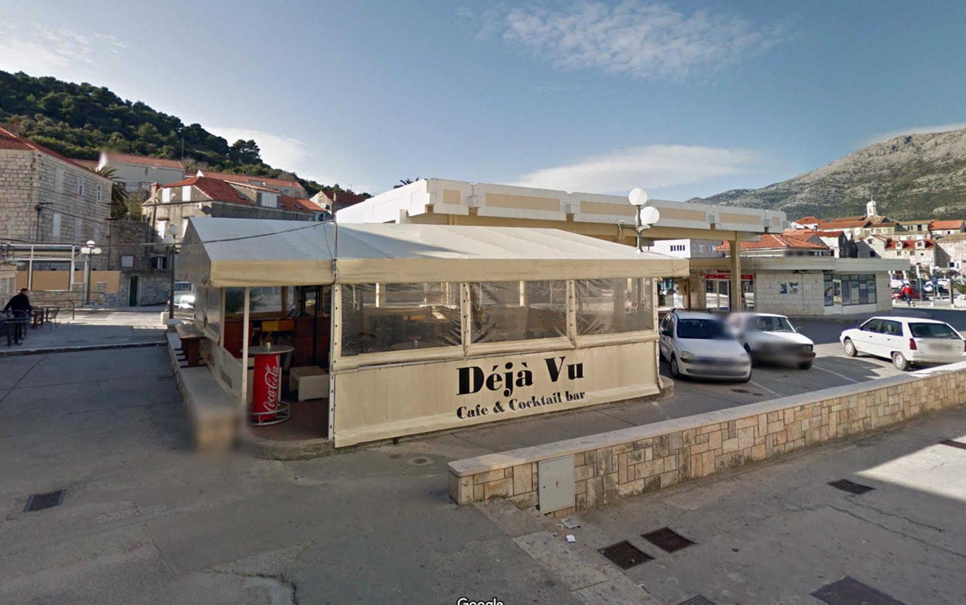 Kafić u kojem se slavilo nakon turnira