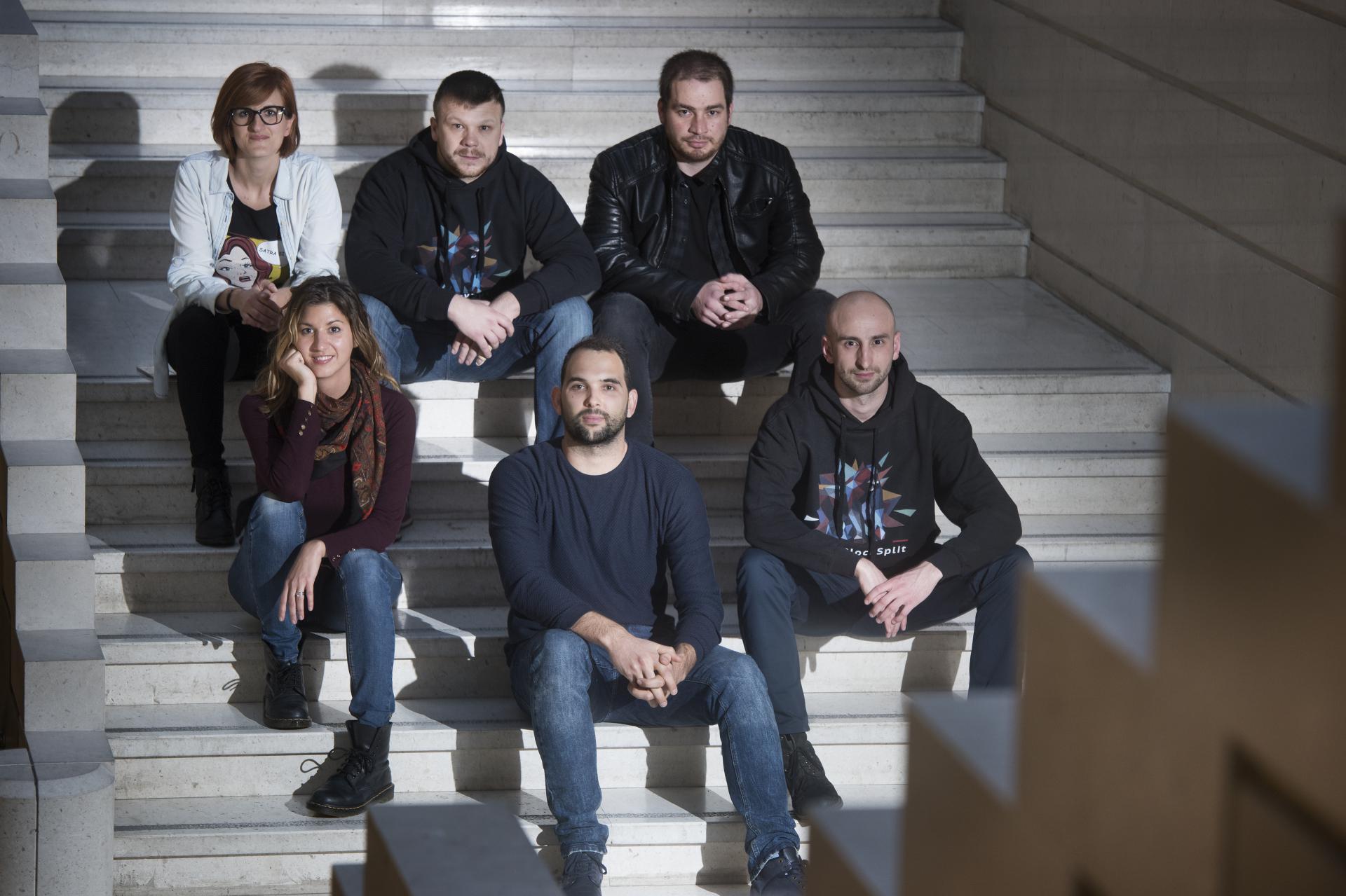 Na slici slijeva gore: Maja Giljanović,Antonio Perić-Mažar, Matko Đipalo, dolje Petra Leskovac Dujišin Tomislav Mamić