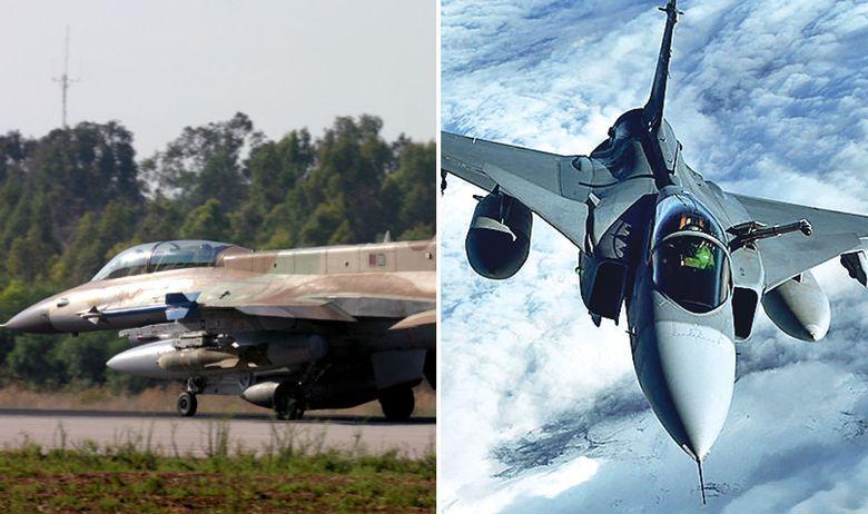 F 16 Barak (lijevo) i Gripen JAS 39