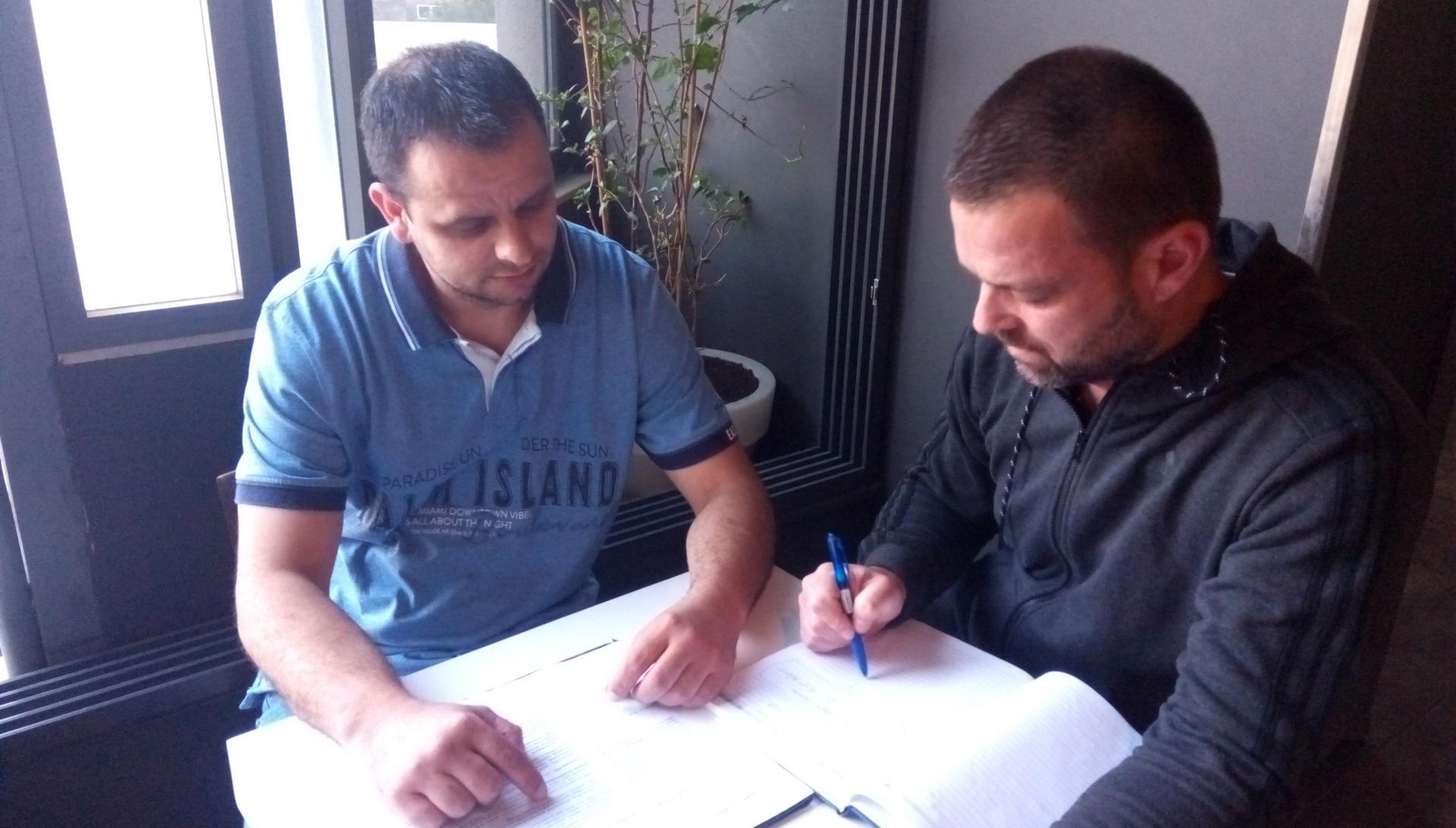 Mario Jalić (na slici lijevo): Kolege u razredu vole i paze moga sina