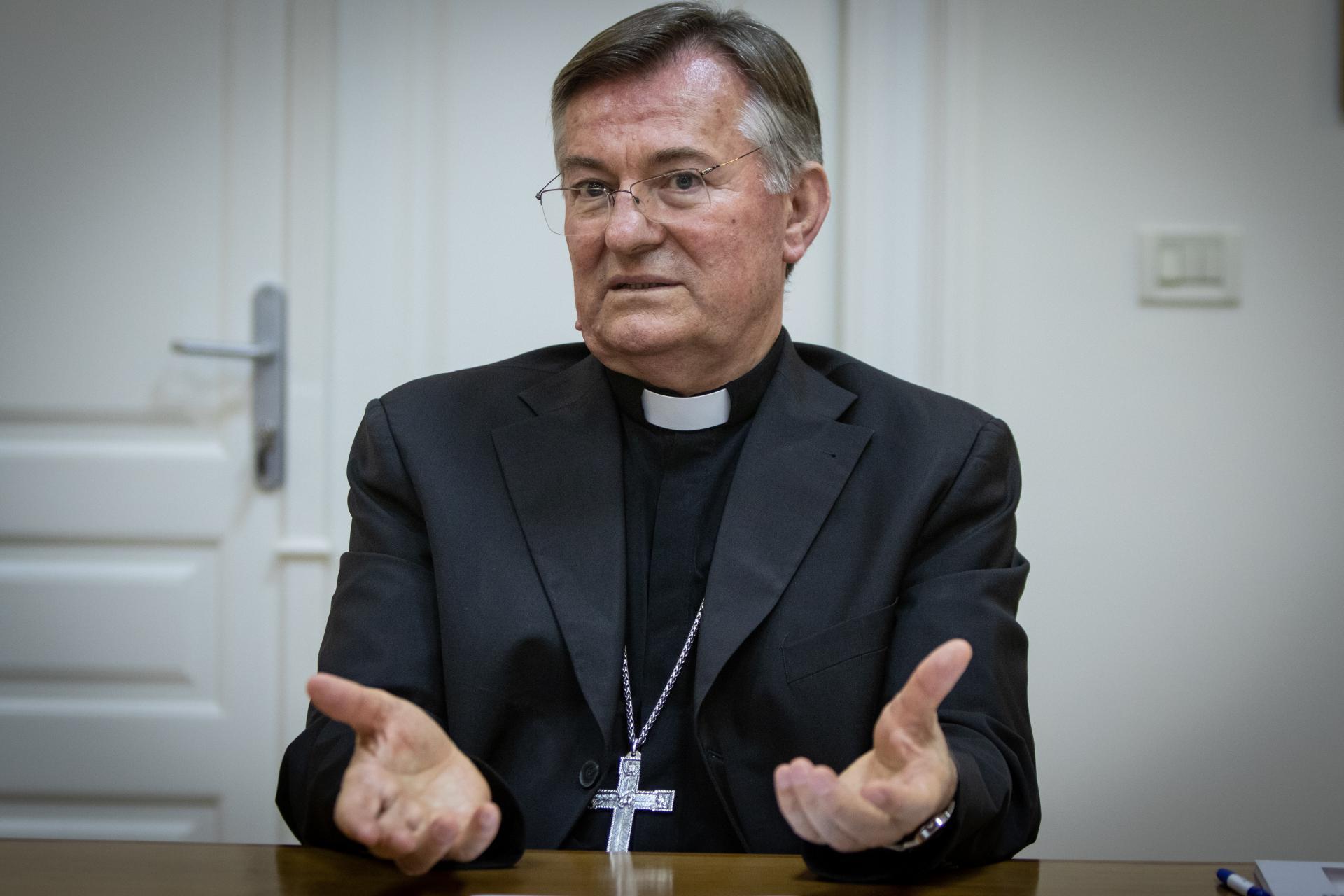 Mons. Marin Barišić, nadbiskup splitsko-dalmatinski