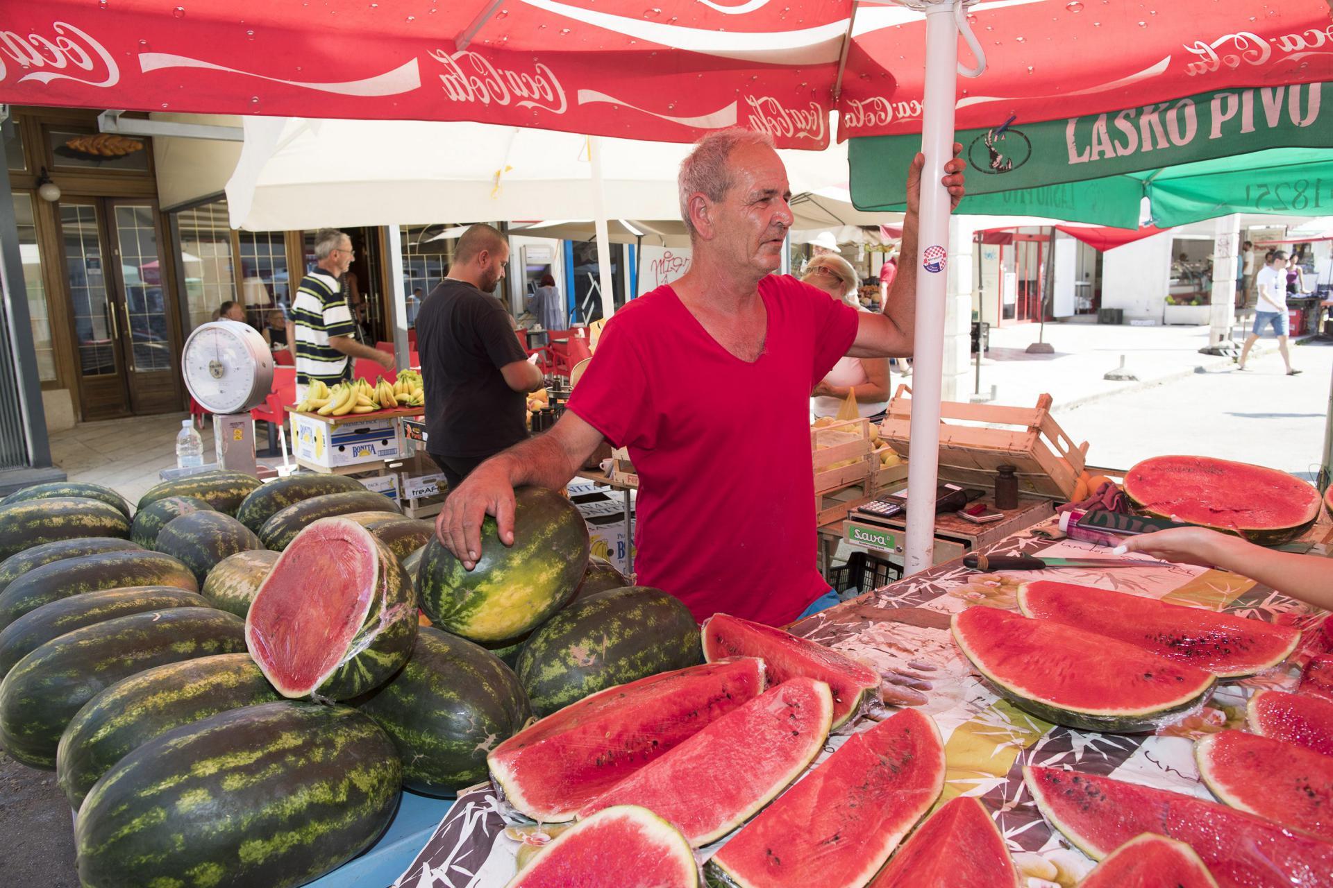 Prodavač voća Mladen Matijaš