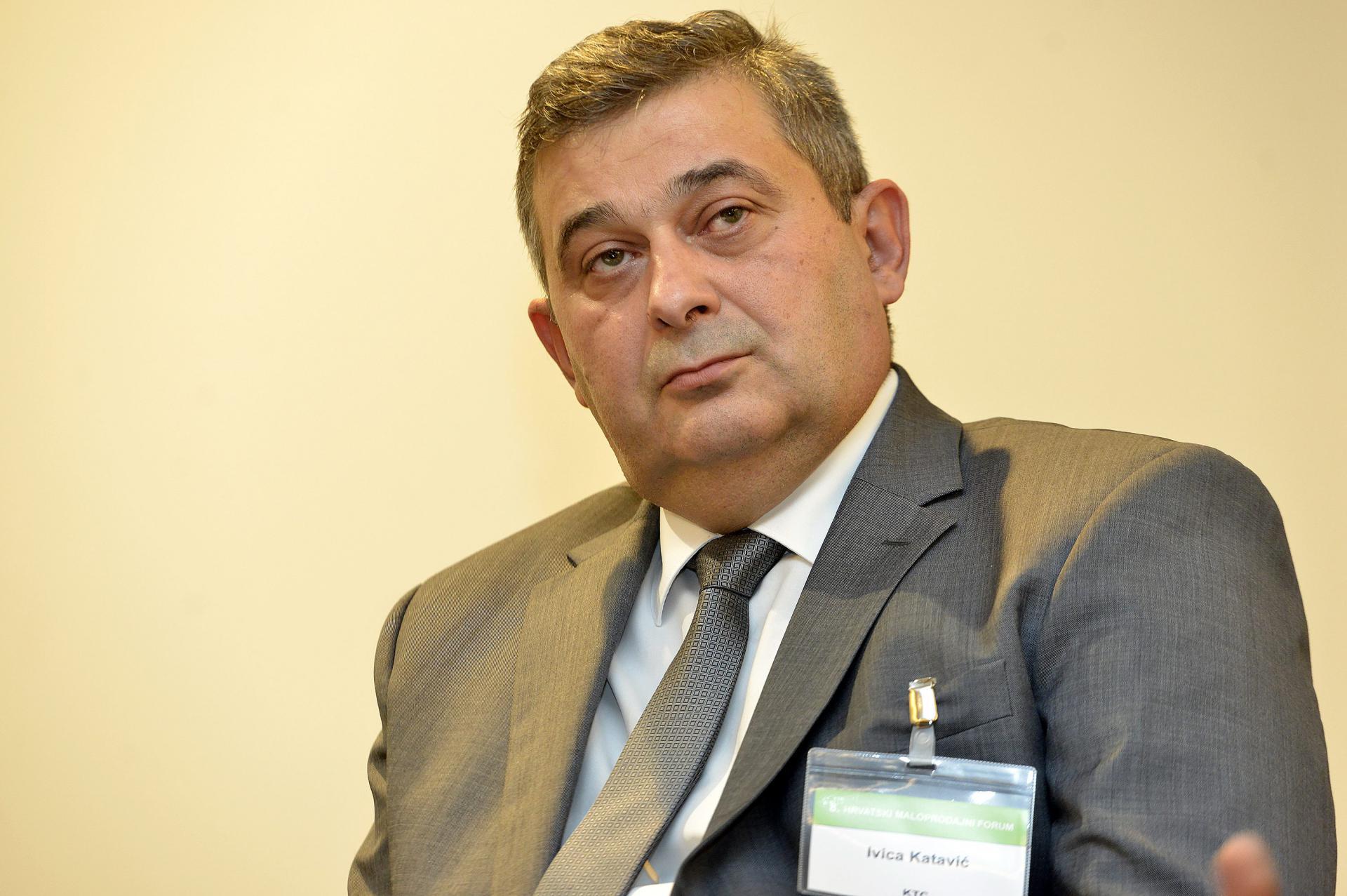 Ivica Katavić, direktor KTC i predsjednik udruženja trgovine HGK