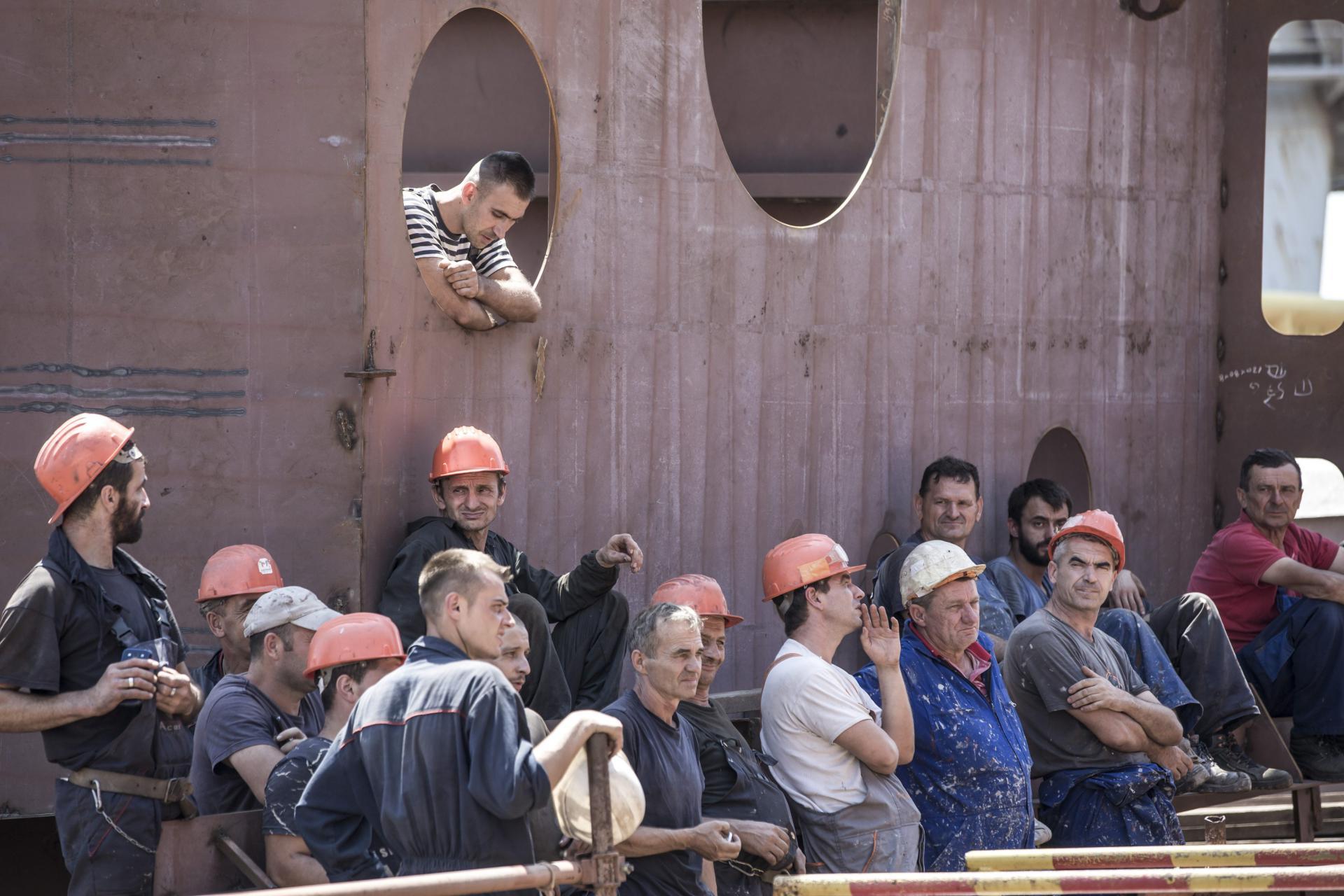Brodograditelji sa zebnjom iščekuju što će im donijeti nova godina