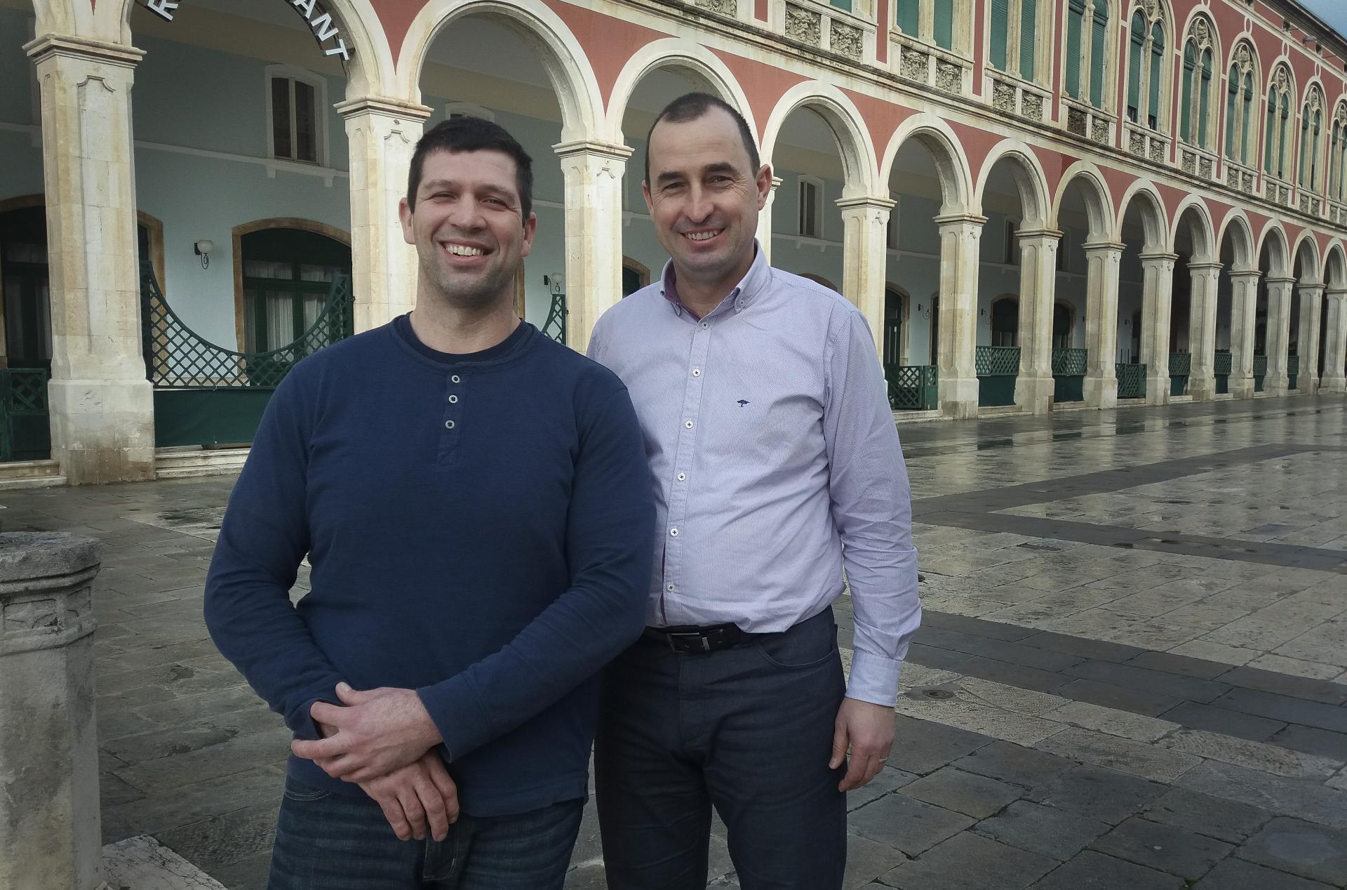 Goran Jugović i Nenad Matić
