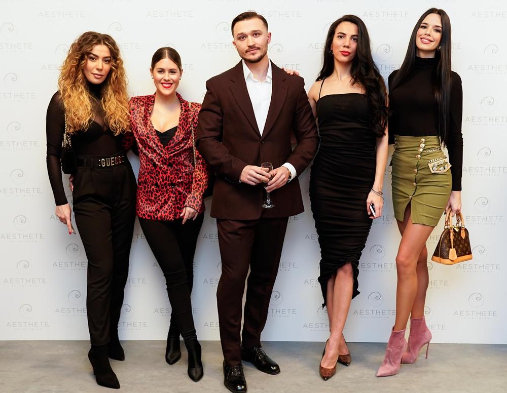 Jelena Peric, Brita Bobetic, dr. Mladen Vukic, Petra Krndelj i Ivana Knoll