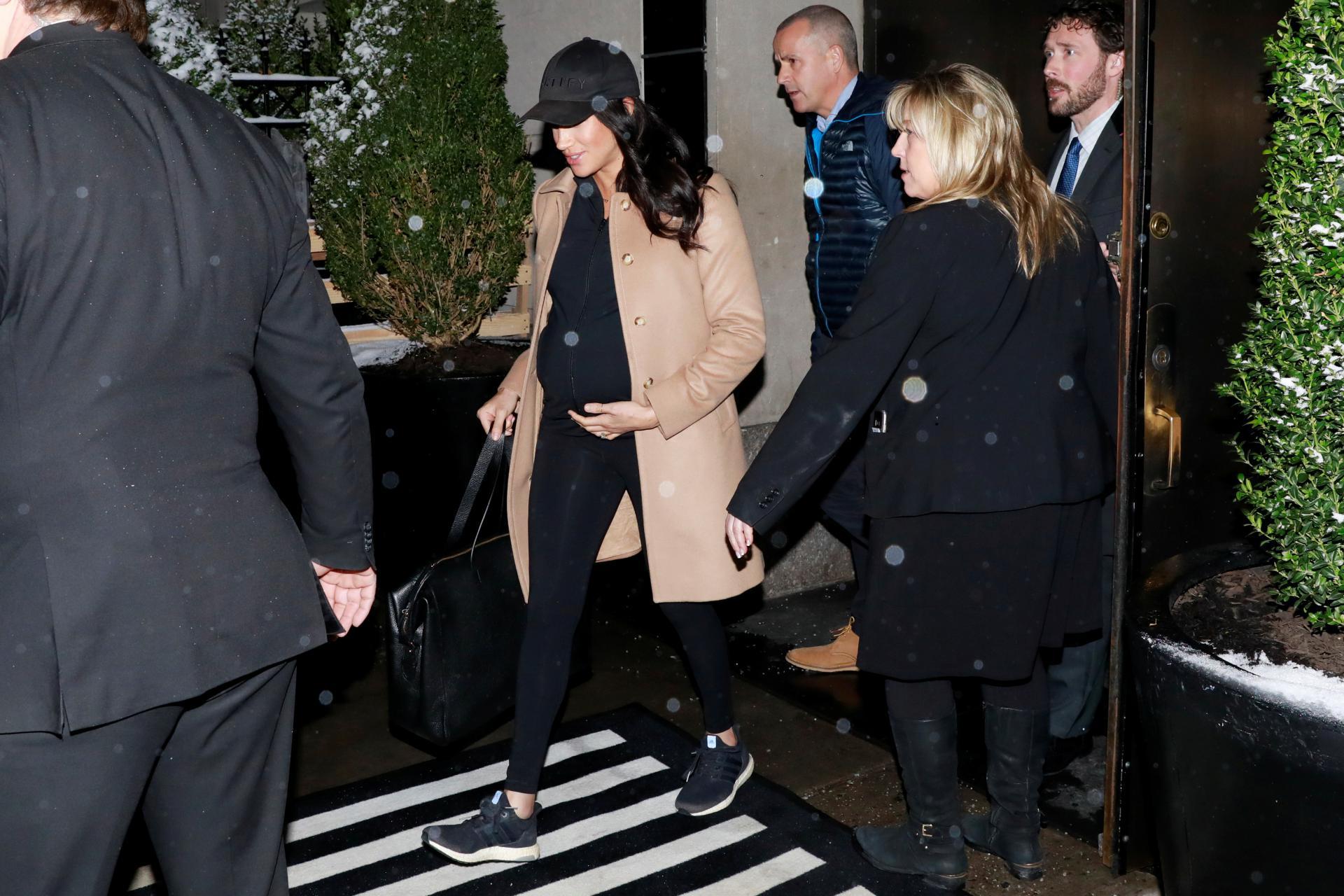 Vojvotkinja Megan izlazi iz hotela 'Mark' u New Yorku