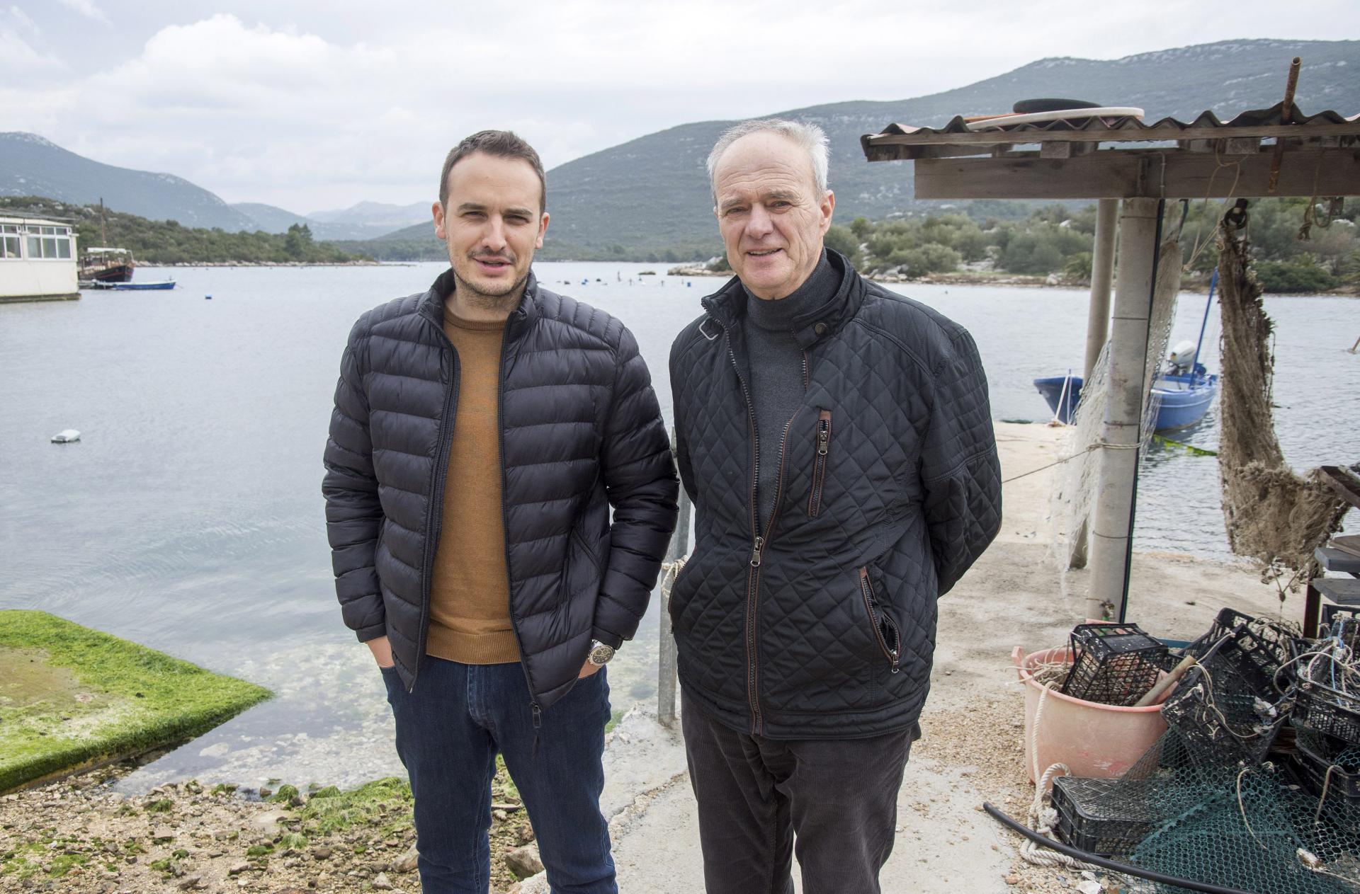 Stonski školjkari Vedran Kunica i Antun Pavlović kažu da nema mjesta histeriji