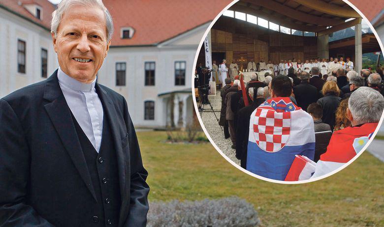 Događanja na Bleiburškom polju su zadnjih godina bila sve više prožeta političkim manifestacijama, ističe mons. Guggenberger