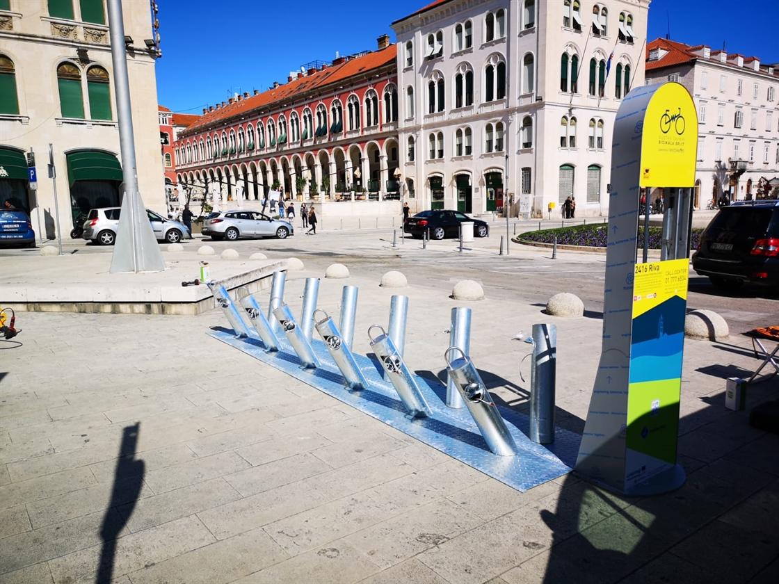 Sustav javnih bicikli