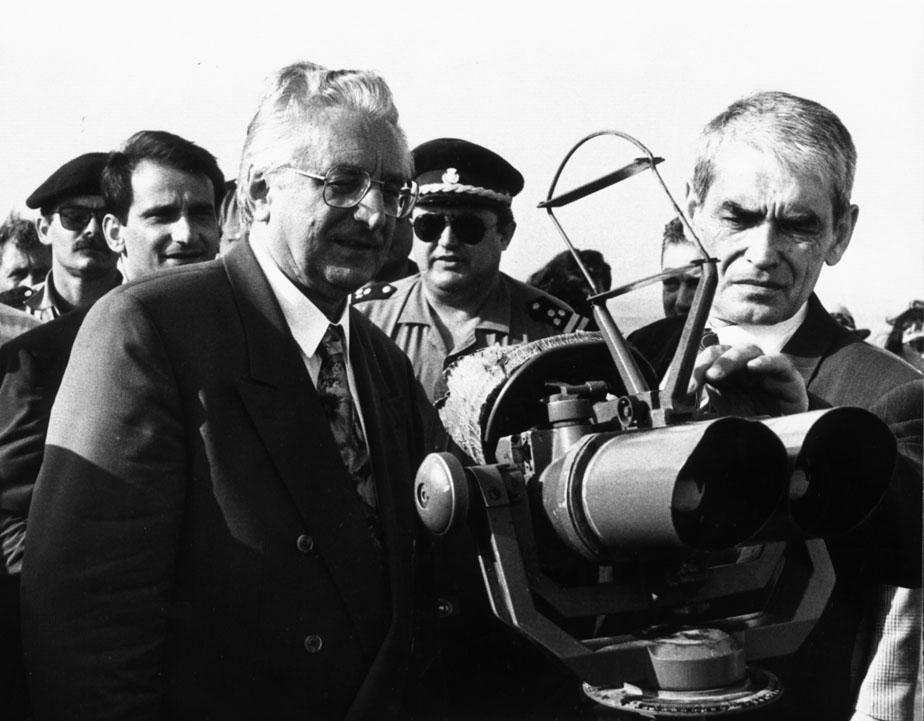 Dr. Franjo Tuđman i Gojko Šušak 1992. godine