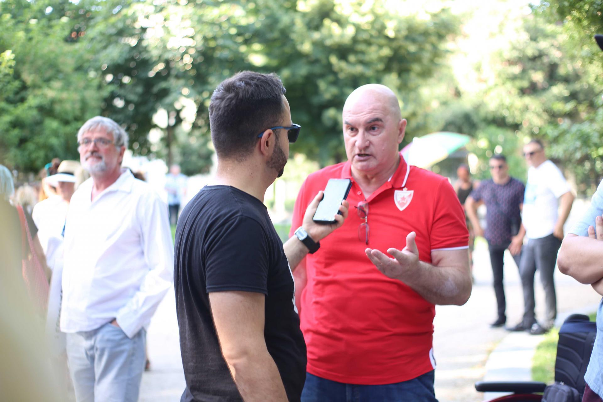 Zoran Erceg na Split Prideu