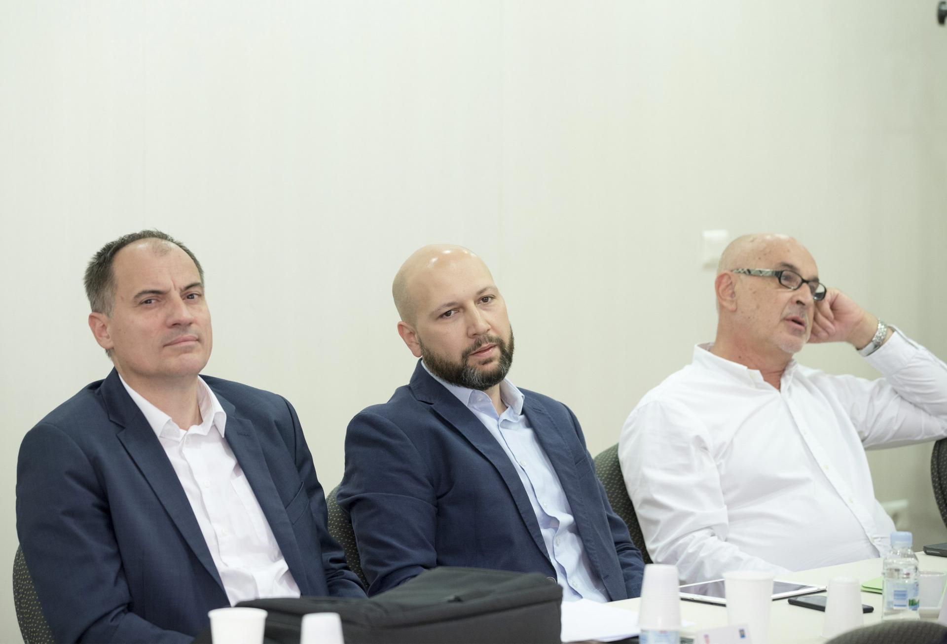 Slaven Dobrović, Mihael Zmajlović i Roko Andričević