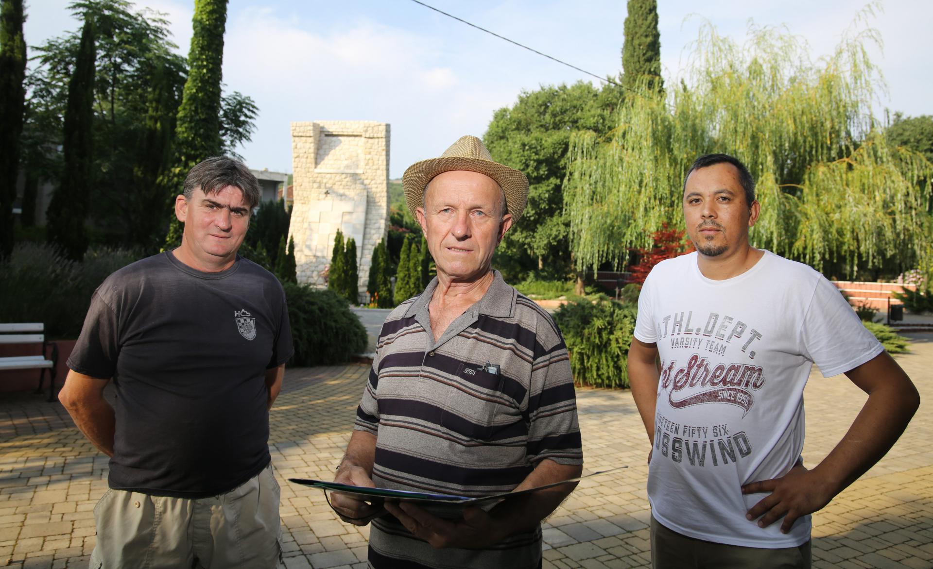 Joško Pejković, Ante Tavrić i Hrvoje Šestan
