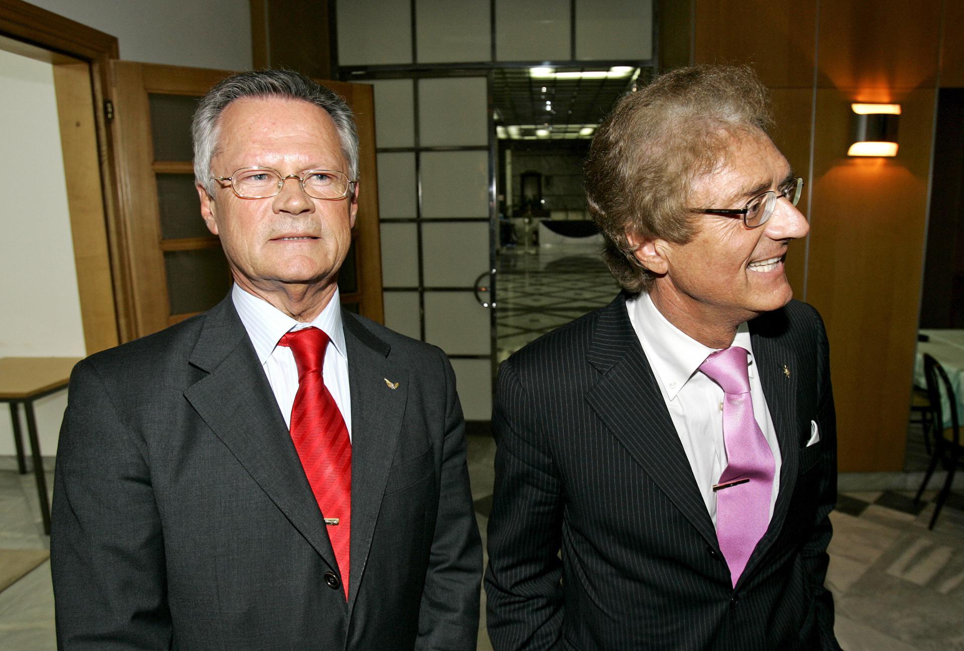 Braća Giancarlo i Franco Ladini