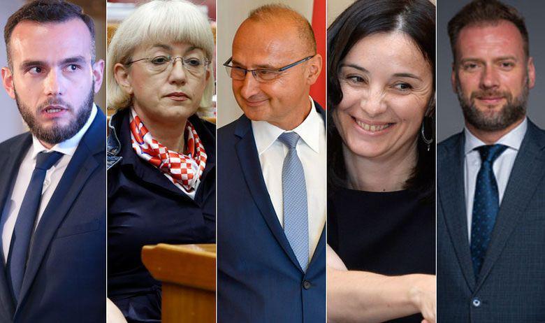 Josip Aladrović, Vesna Bedeković, Gordan Grlić Radman, Marija Vučković i Mario Banožić