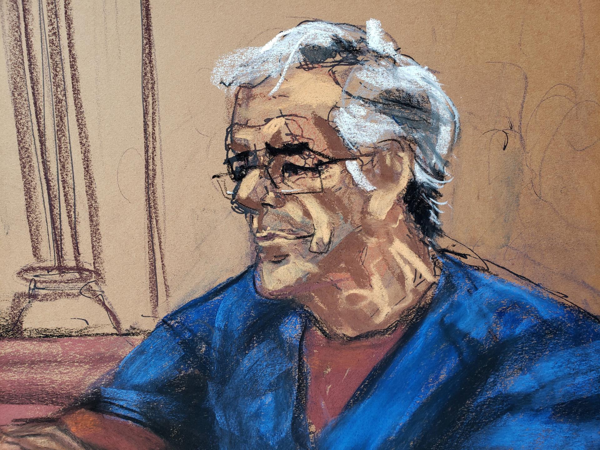 Jeffrey Epstein na sudu