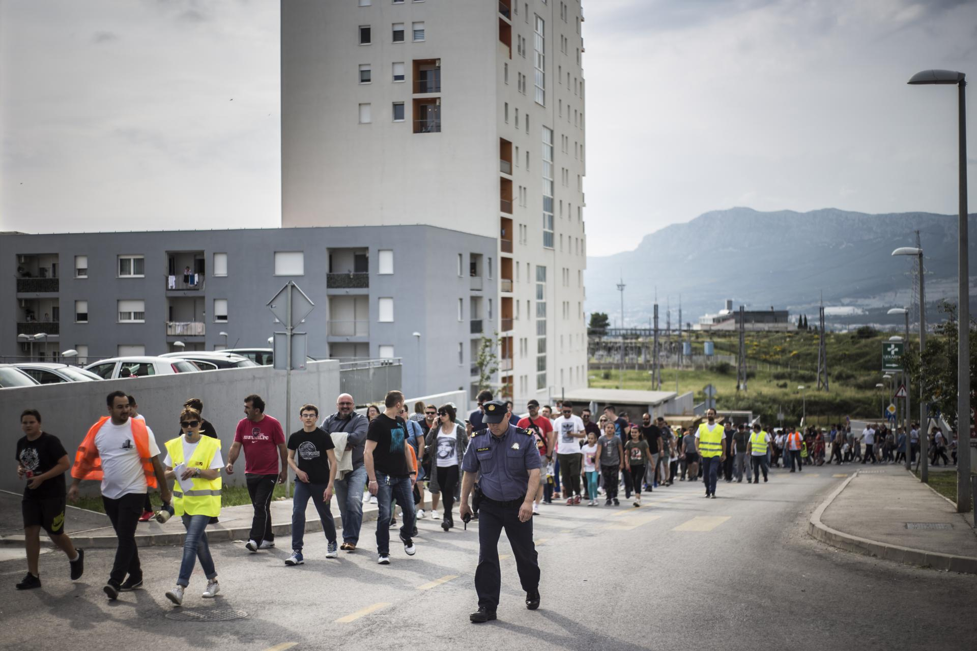 Stanari Kile su proljetos blokirali najveće raskrižje u svom kvartu kako bi poslali prosvjednu poruku odgovornima u Gradu Splitu zbog problema oko pristupnih cesta