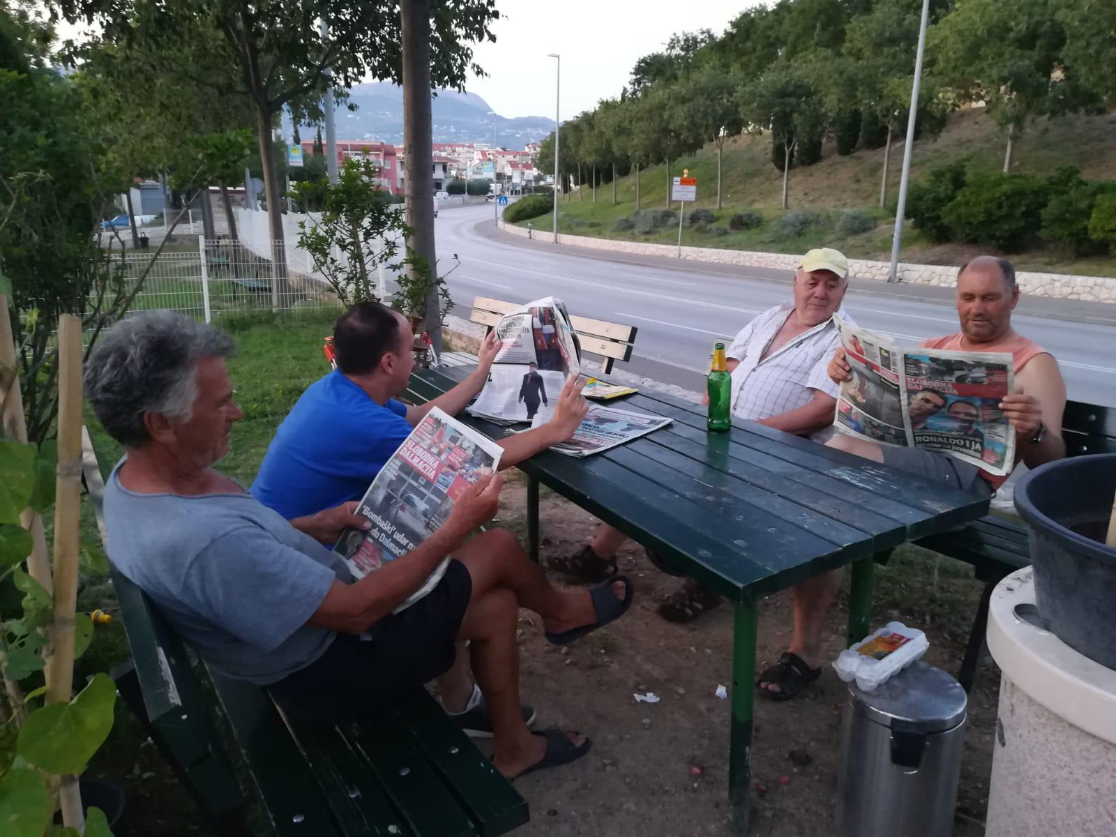 Ekipa iz parkića na Dragovodama