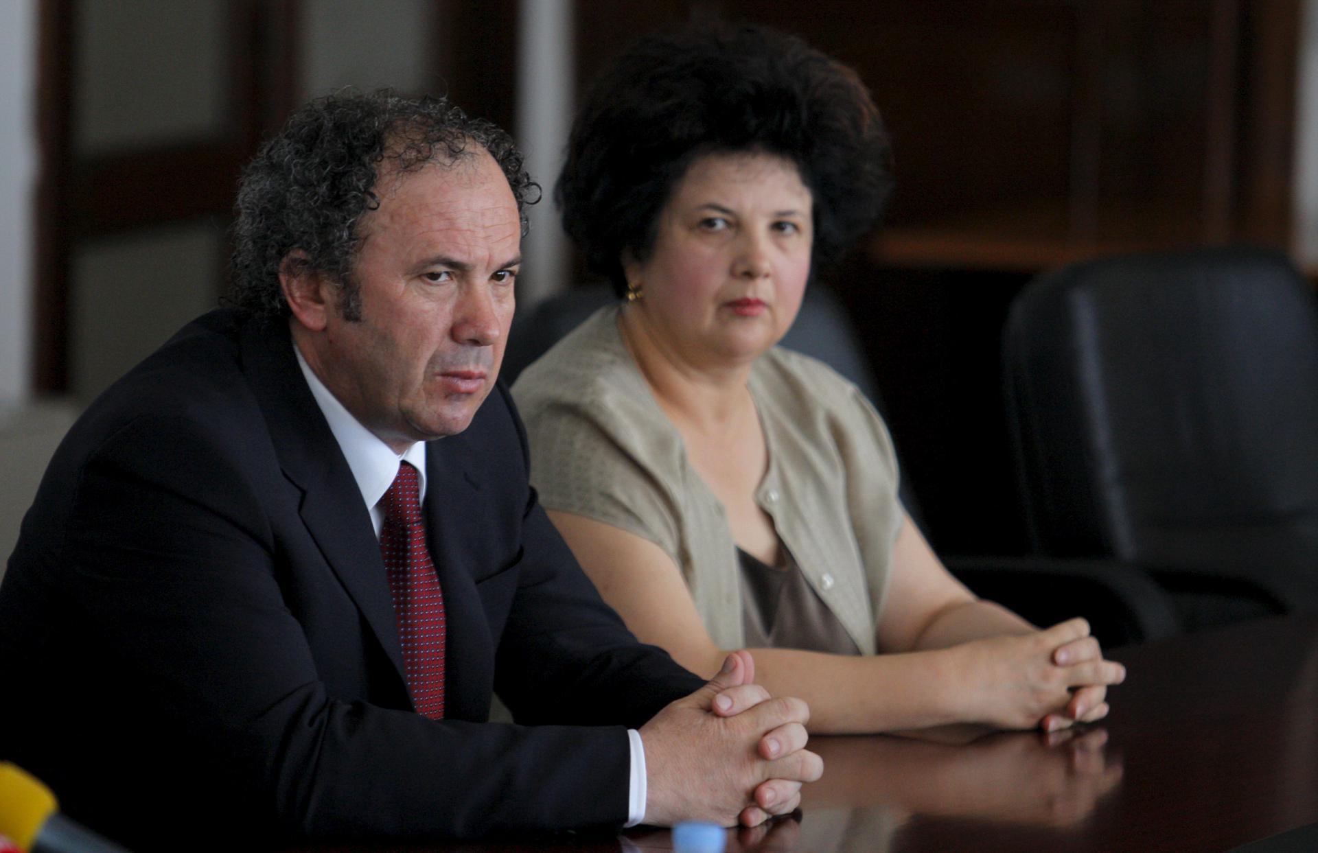 Željko Kerum i Nevenka Bečić