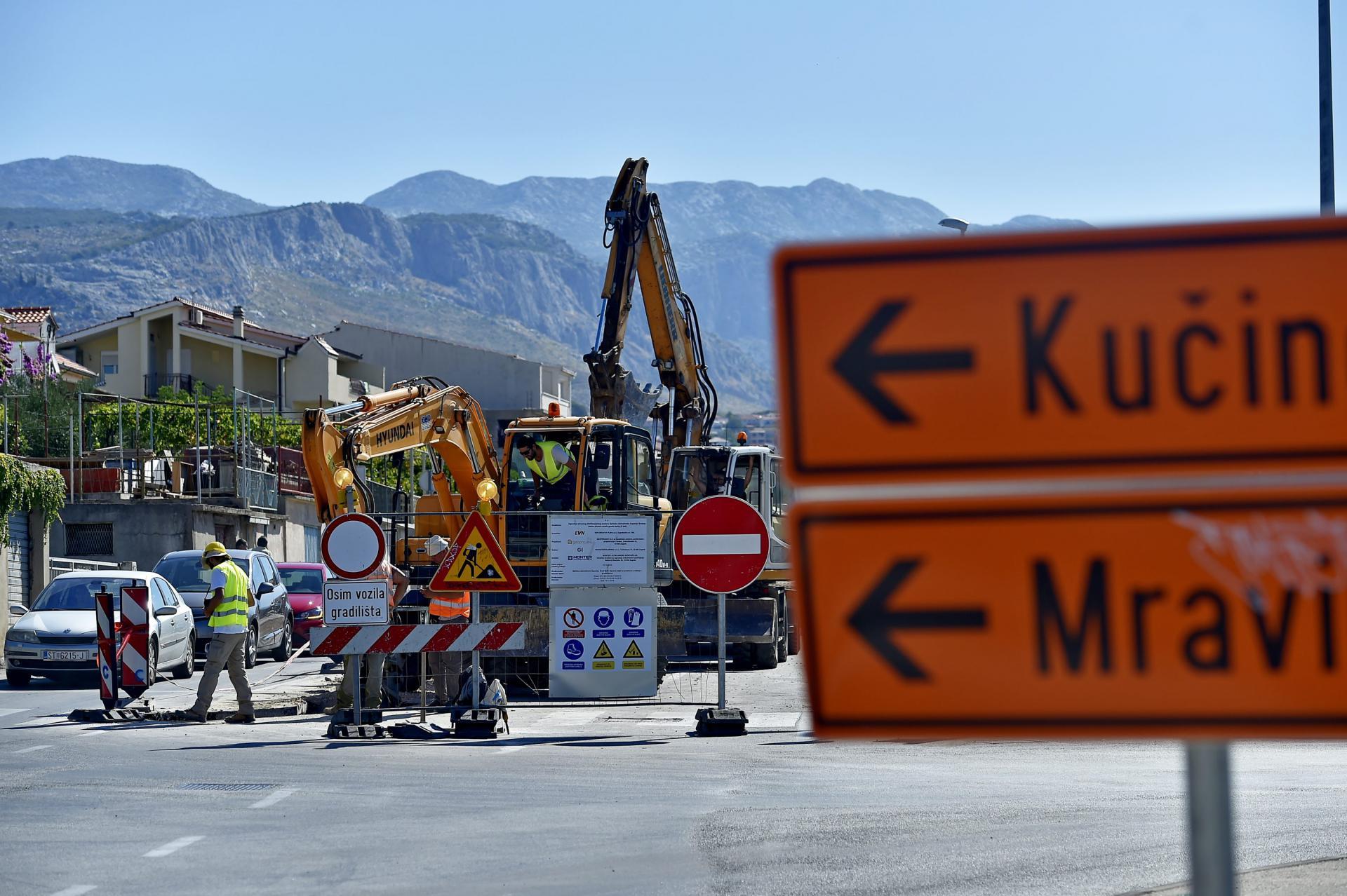 Dio ulica oko bivšeg 'Mercatora' zatvoren je zbog postavljanja plinovodne mreže