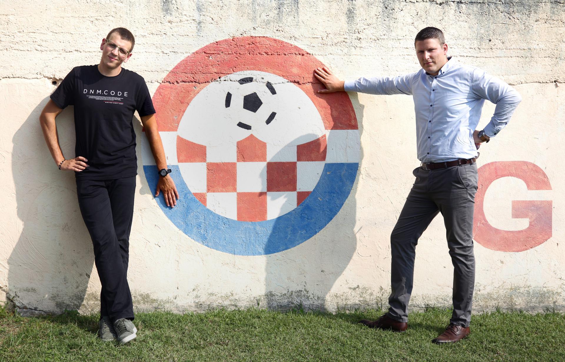 Toni Jurić-Šolto (lijevo), nositelj HDZ-ove liste u Glavicama i Petar Ljubičić, predsjednik SDP-a Glavice