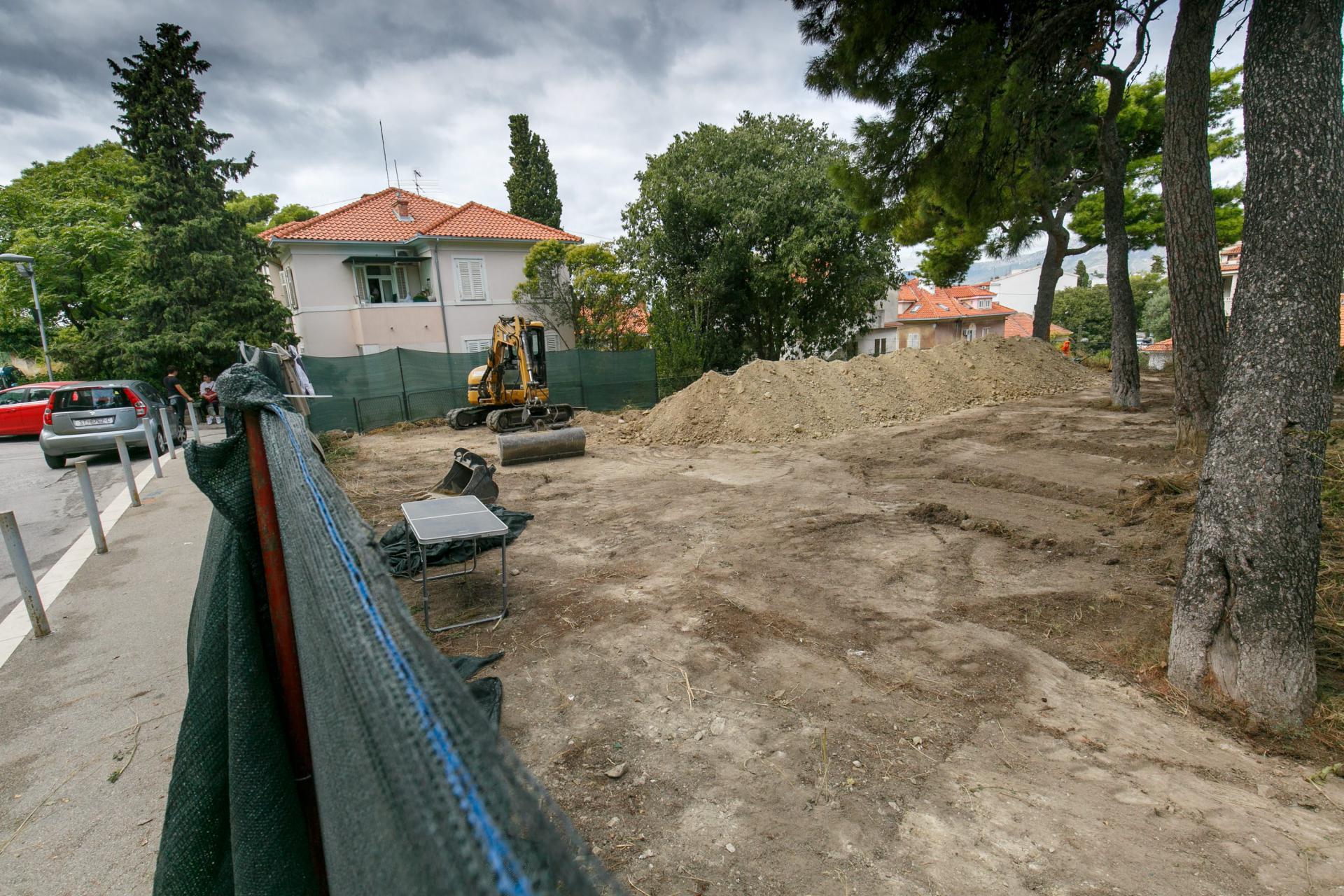Građevinari su pripremili teren za arheološka istraživanja