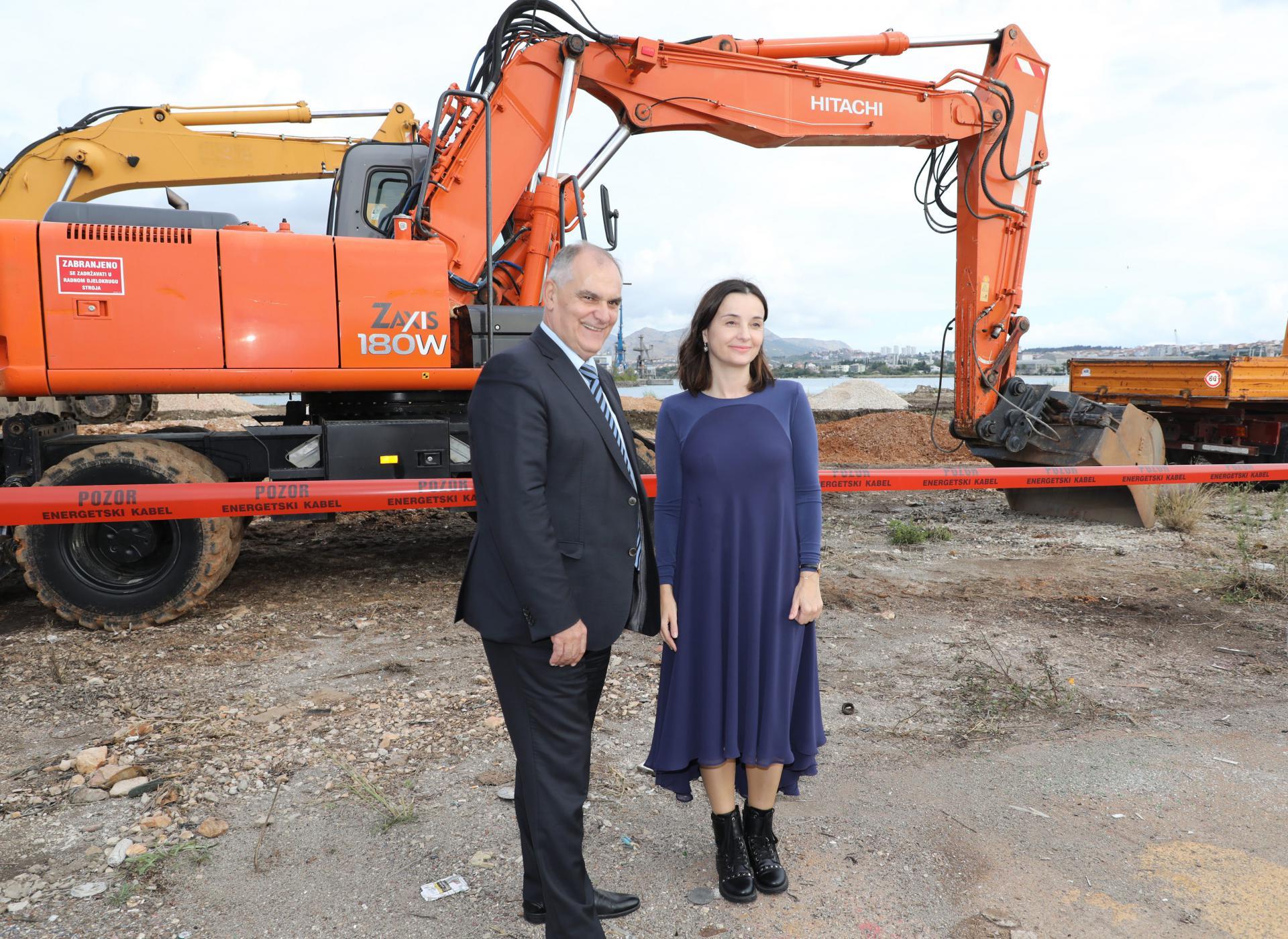 Župan Blaženko Boban i ministrica Marija Vučković