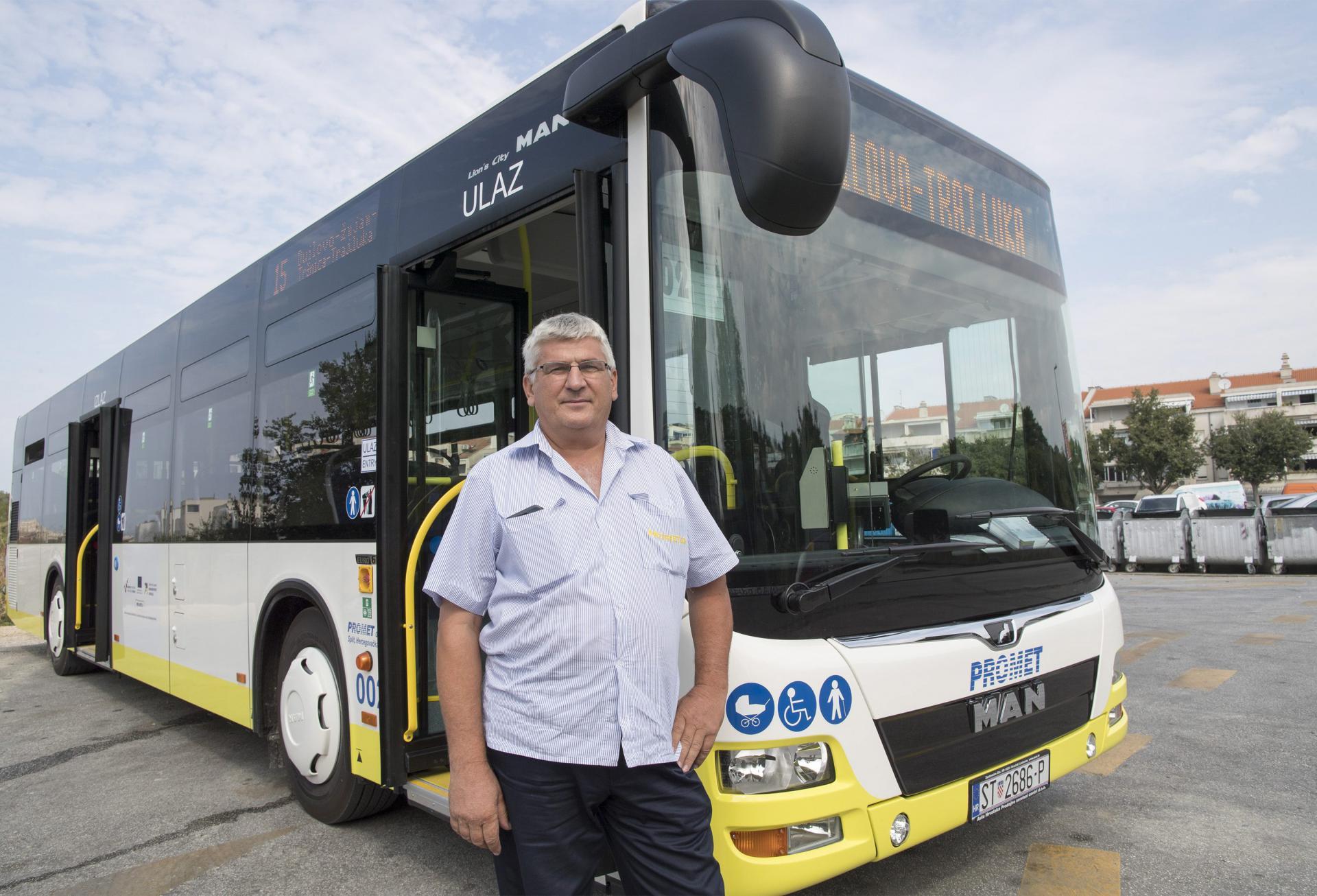 'Ljudi ulaze pa mi odmah s vrata komentiraju kako im se sviđaju novi autobusi', ističe 'prometovac' Jerčić