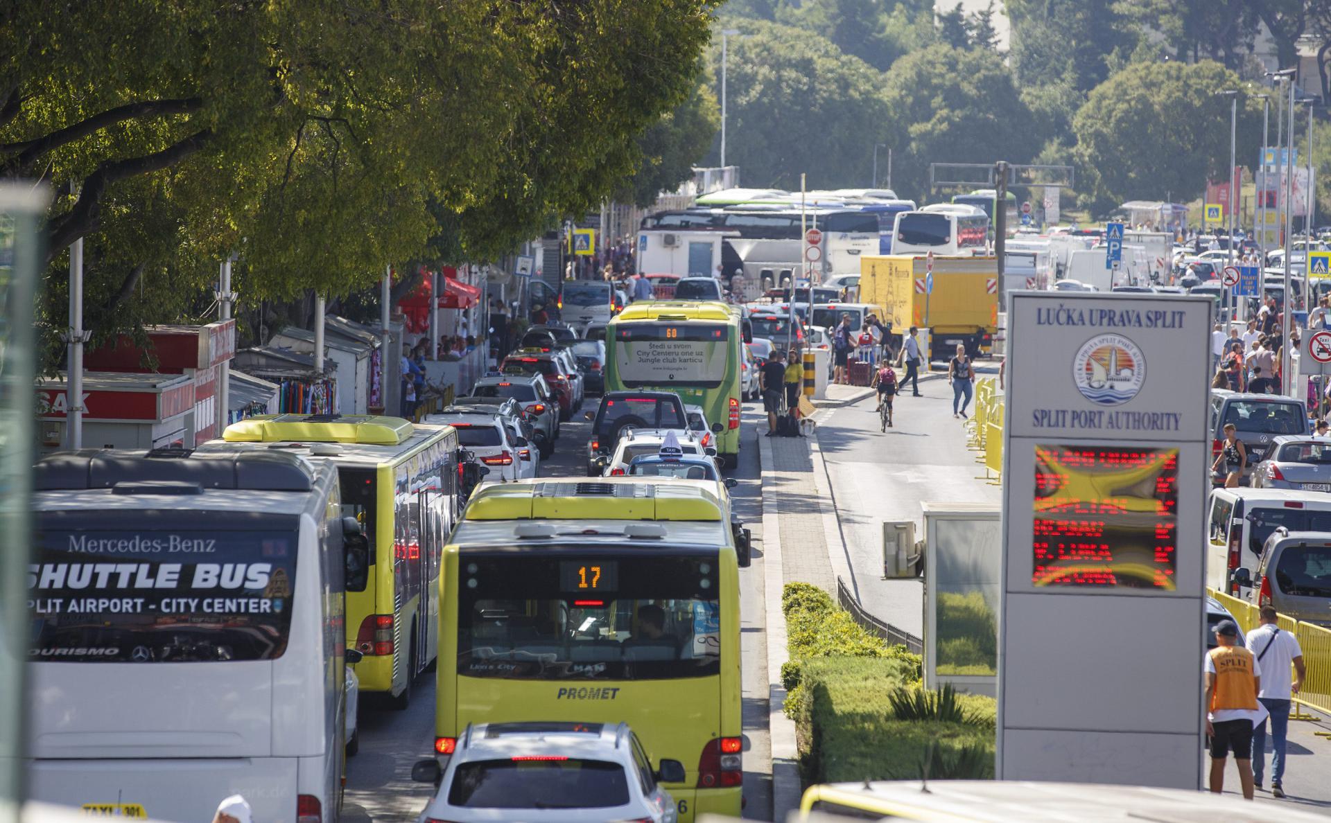 Trajektna luka bit će rasterećenija u novom režimu vožnje 'Prometovih' autobusa