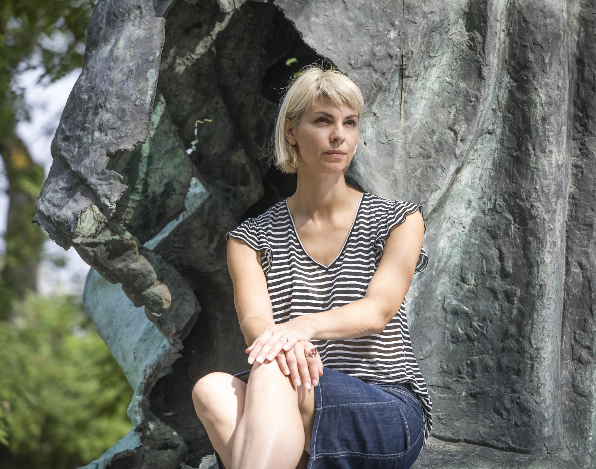 Dragana Modrić dinamična je kustosica sinjske Galerije Sikirica