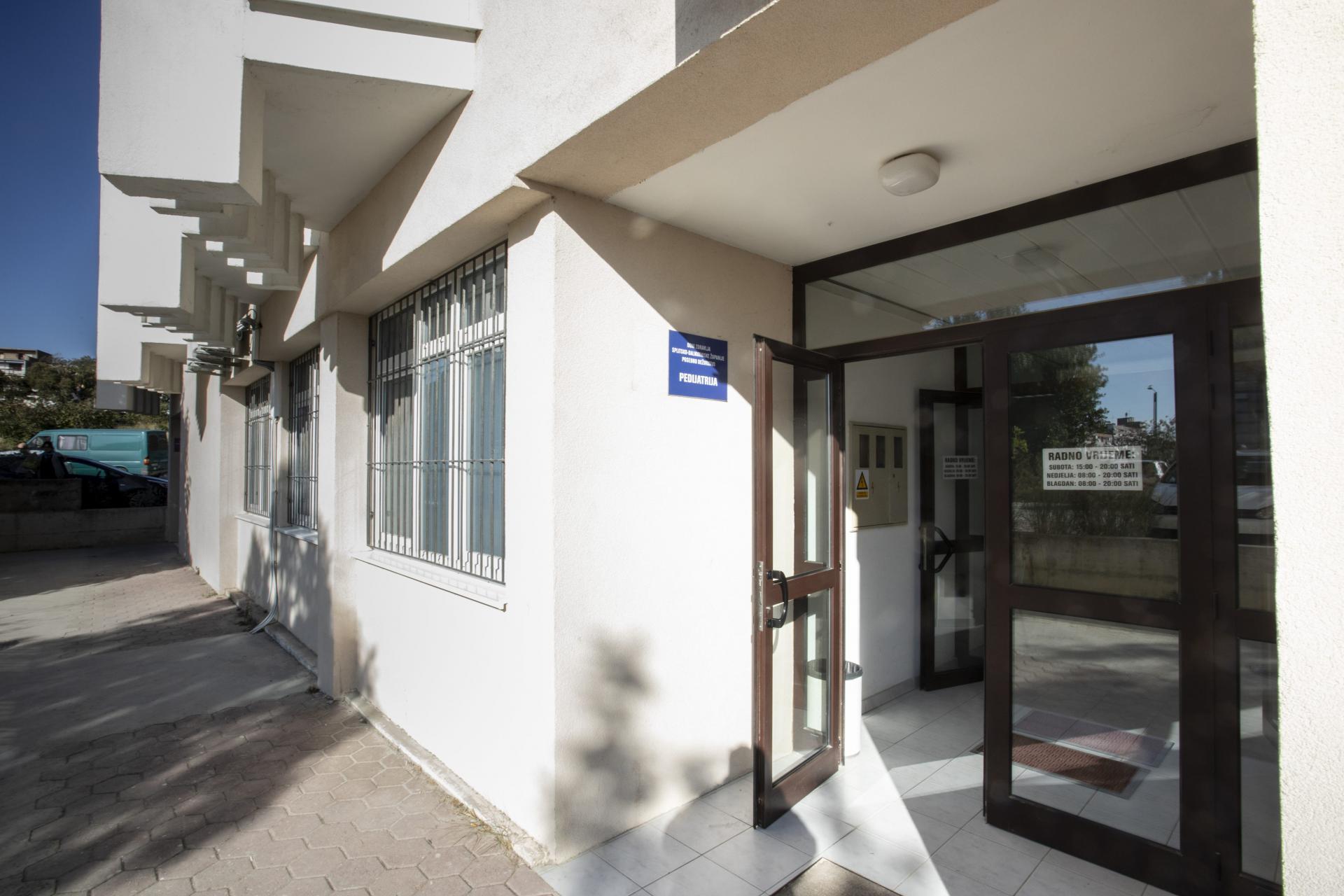 U Splitu se dežura u ambulanti na Mertojaku