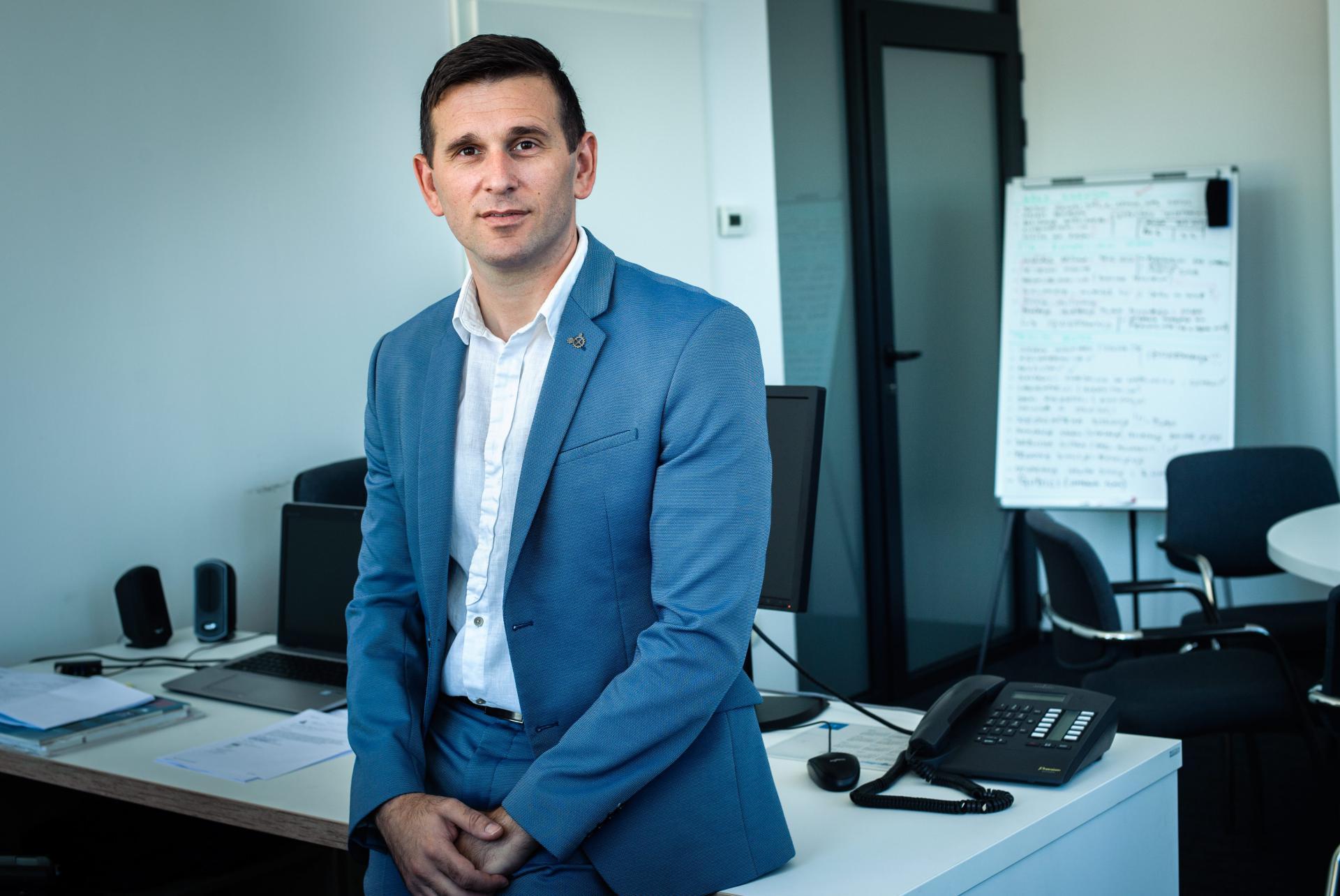 Tomislav Šuta, direktor Vodovoda i kanalizacije