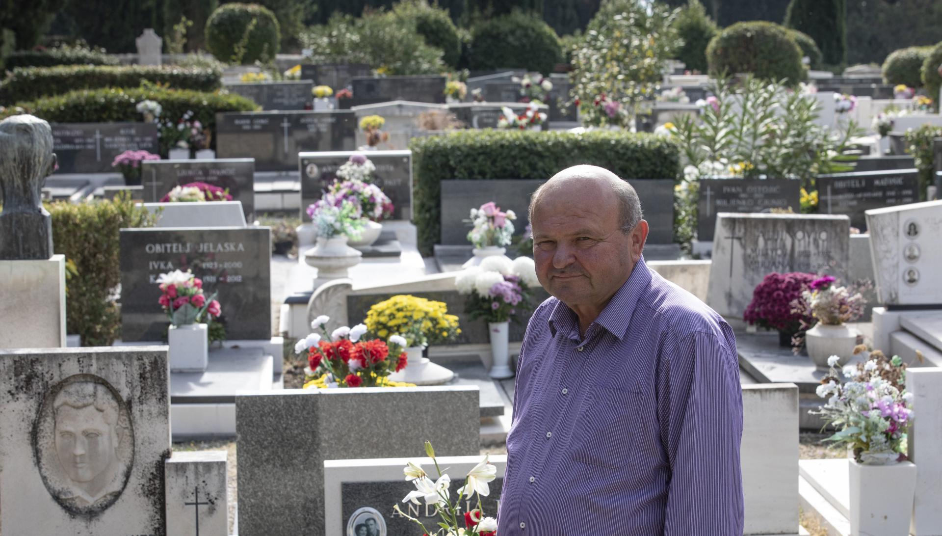 'Za rad na Lovrincu morate najprije prihvatiti da su vam groblje i grobnice svakodnevica', naglašava Rodi