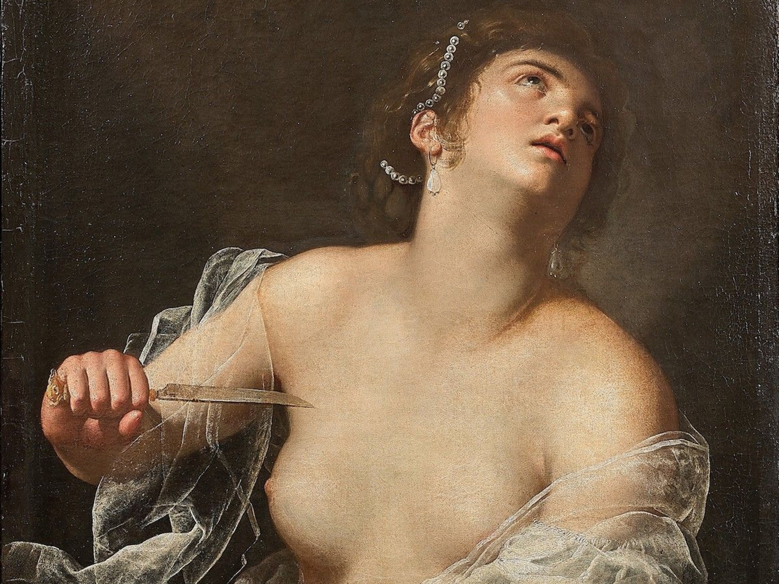Artemisia_Gentileschi_Lucretia_artcurial polozena