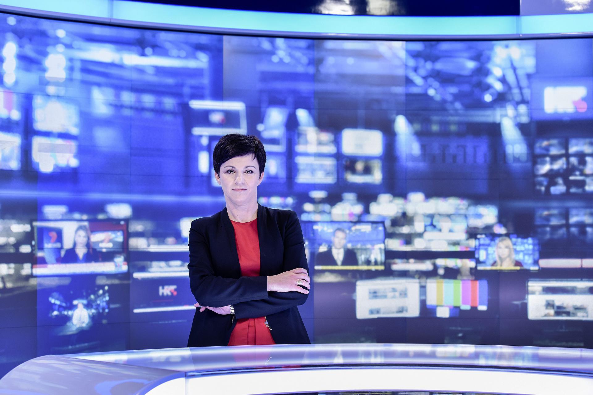 Katarina Periša Čakarun urednica je Odjela informativnog medijskog servisaHTV-a
