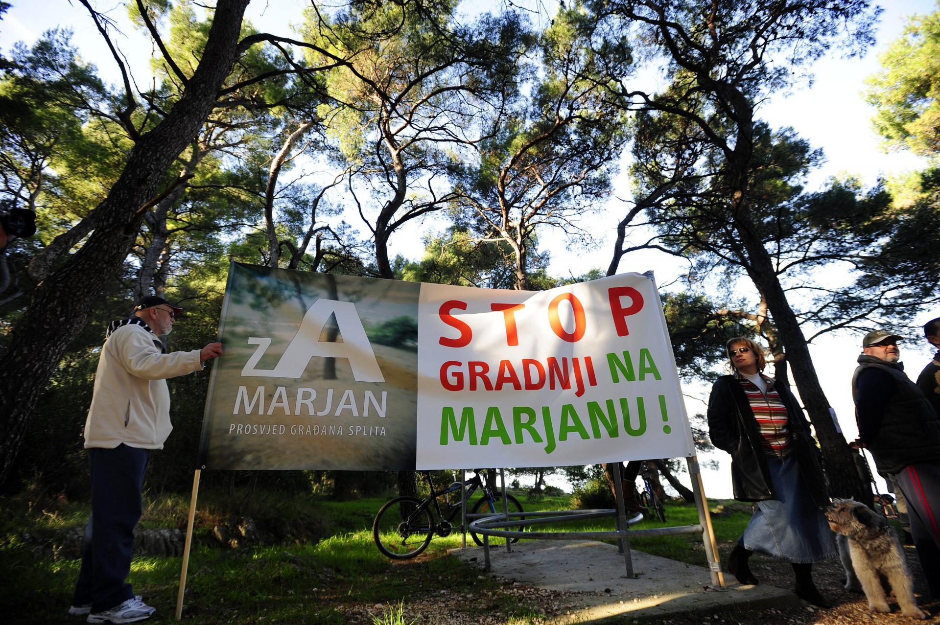 Građani su odavno rekli sve o potencijalnom dolasku bagera na Marjan