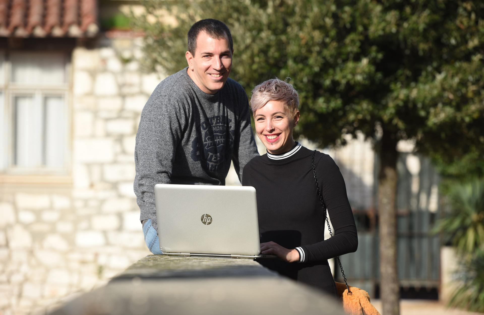 Kristina Alić i Simeon Bugarija zadarski su digitalni nomadi