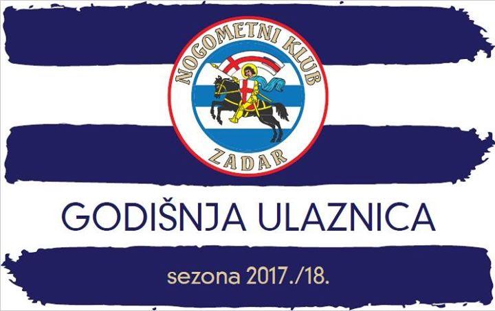 Godišnja ulaznica NK Zadar