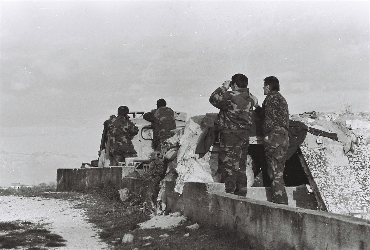 Snimci borbi prvog dana akcije Maslenica