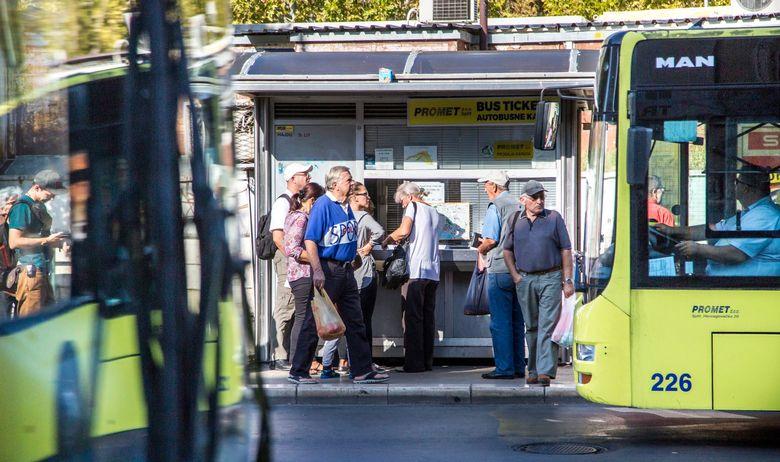 Split, autobus, Promet