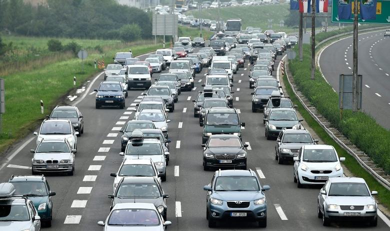 Gužve auti autocesta
