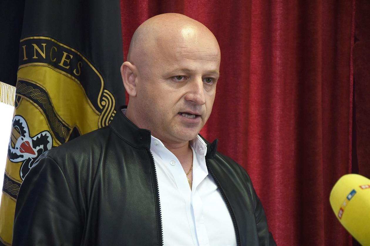 Bore Mršić, voditelj Službe kriminalističke policije PU zadarske.