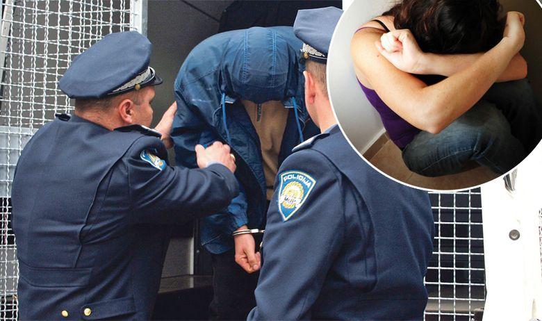 Privođenje Žena Policija Nasilje