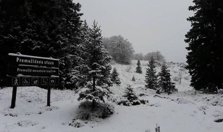 Velebit, snijeg