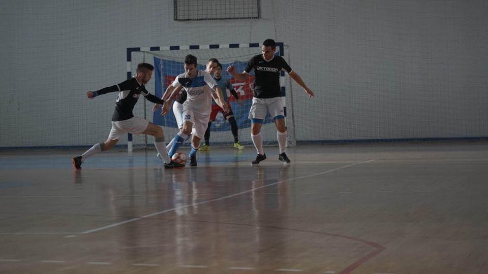 Detalj iz igre malog nogometa